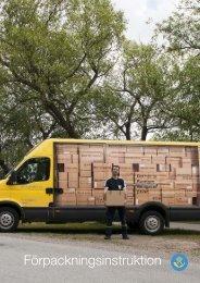 Ladda ner förpackningsinstruktioner - Posten
