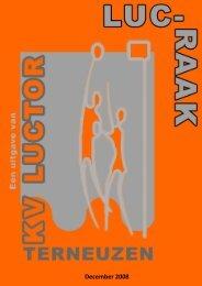 December 2008 - Korfbalvereniging Luctor