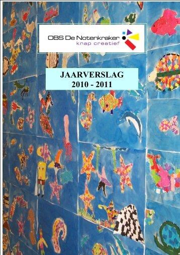 JAARVERSLAG 2010 - 2011 - De Notenkraker