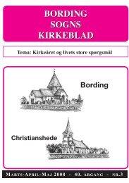 bording sogns kirkeblad bording sogns kirkeblad - Bording Kirke