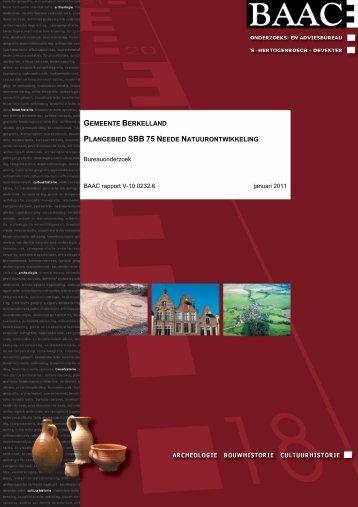 V-10.0232 Neede Natuurontwikkeling - Gemeente Berkelland