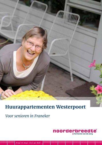 Huurappartementen Westerpoort - Erasmushiem