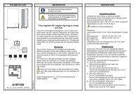 PULSER HC-LON INSTRUKTION INSTRUKTION Triac ... - regin