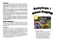 Fordele ved babytegn: - Stimulerer barnets sproglige udvikling ...