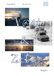 V@st&Zeker (dec-2009) - Christelijke Jeugdkampen