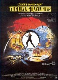 The Living Daylights - sheet music - John Barry