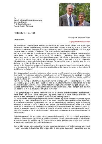 Læs hele brevet her - Spedalsk.dk