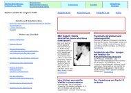 der Ausgabe 7-8/2004 - Berliner Behindertenzeitung