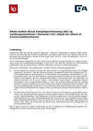 (LO): Udspil om reform af erhvervsuddannelserne - Dansk ...