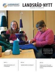 Landsråd-Nytt nr. 1 2013 - Landsrådet for arbeid til yrkeshemmede