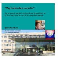 Melle Bouwhuis - Scripties UMCG - Rijksuniversiteit Groningen