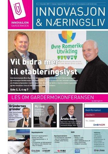 Nr 4 - 2009 - Innovasjon Gardermoen