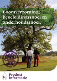 Boomverzorging (pdf) - Nationale Bomenbank