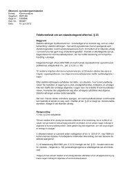 Telefonreferat af 15. juni 2012 - Økonomi- og Indenrigsministeriet