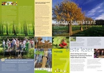 krant najaar 2010.pdf - Regionaal Landschap Houtland