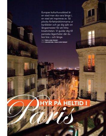 Frankrike: Hyr på heltid i Paris - Amelia
