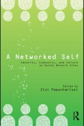 Identity, Community, and Culture on Social Network Sites - Viral Media