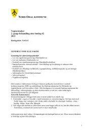 Høring vegnavn_edringer-2-2013.pdf - Nord-Odal Kommune