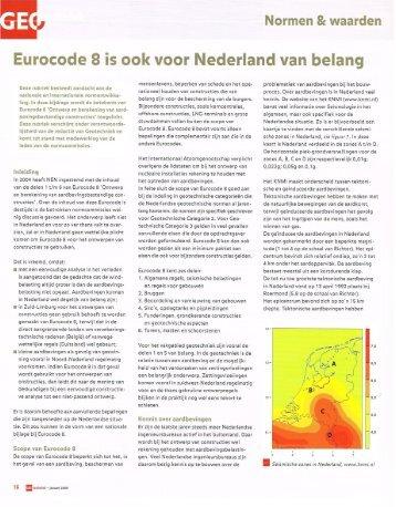 NenW7 Eurocode 8 - GeoTechniek