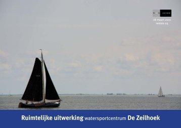 Bijlage Notitie bijlage 1 Ruimtelijke uitwerking Watersportentrum De ...