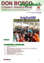 INHOUD VLAANDEREN & NEDERLAND - Don Bosco
