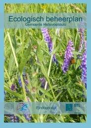 Ecologisch beheerplan - Welkom bij gemeente Hellevoetsluis