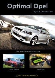 Optimal Opel - Opel Motorsport Club