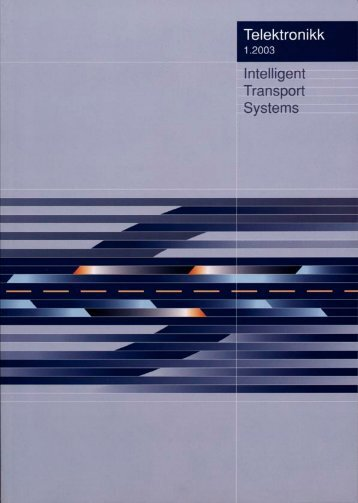 Intelligent Transport Systems - Telenor