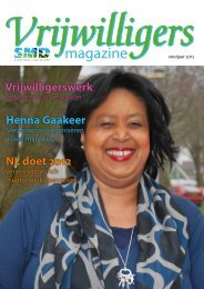 Voorjaar 2012 - Stichting Maatschappelijke Dienst Zaanstreek ...