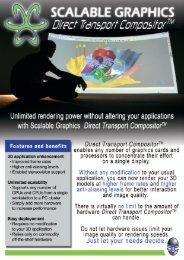 DTC brochure - Scalable Graphics