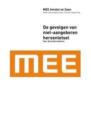 De gevolgen van niet-aangeboren hersenletsel - MEE Amstel en Zaan
