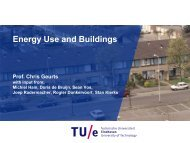 Energy Use and Buildings