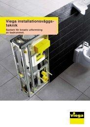 Installationsvägga - Viega