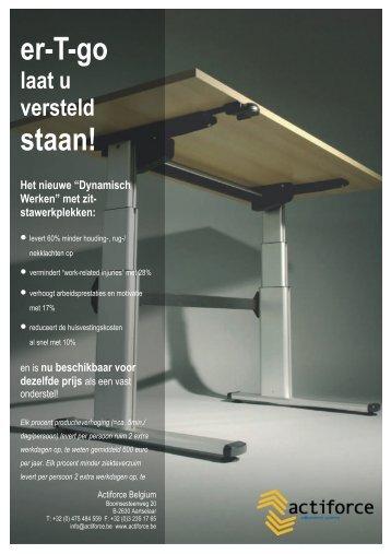 klik hier om de brochure te downloaden - Actiforce Belgium