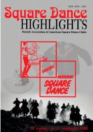 Highlights nr. 3 - 2004 - Danish Association of American Square ...