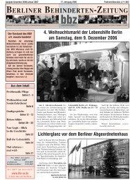REISEN - Berliner Behindertenzeitung