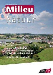 Openbaar onderzoek ontwerp Milieubeleidsplan ... - Pantarein