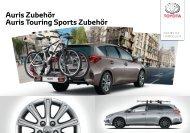 Toyota Auris Touring Sports Zubehör