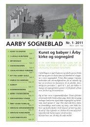 Nr. 1 - 2011 - Aarby Kirke