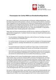 Caritas in NRW - Diözesan-Caritasverband für das Erzbistum Köln e.v.
