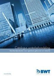 Catalogus waterbehandeling - BWT