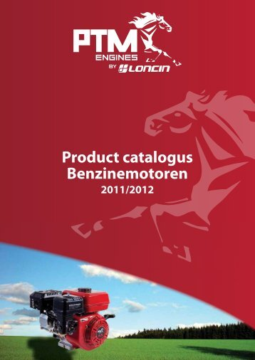 Product catalogus Benzinemotoren - PTM Engines