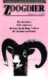 Bat-detectors WHd-viaducten De lynx op de Hoge Veluwe De ...