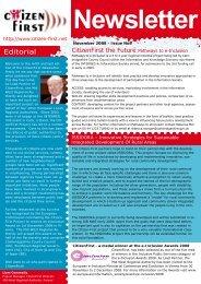 No.9 Nov 2008 English - Citizen-first.net