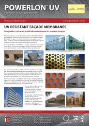 Powerlon UV Colour - Industrial Textiles and Plastics, Ltd