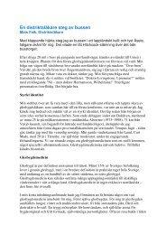 Läs Mats Falks betraktelser om livet som ... - glesbygdsmedicin