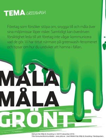 Miljö & Utveckling (2010-12-01, pdf 5 MB) - Yttra