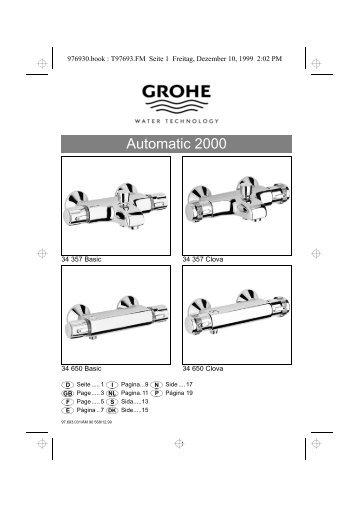 Linie Europlus Automatic 2000 - VVSGiganten