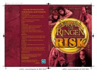 SAGAN OM RINGEN RISK TURORDNING, KORTVERSION - Hasbro