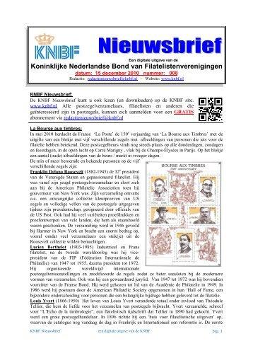 008 knbf dec. 2010 - Eerste Kerkraadse Philatelisten Vereniging